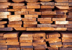 Stack wood Royalty Free Stock Photography