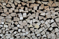 Stack of wood, logs, background Royalty Free Stock Images