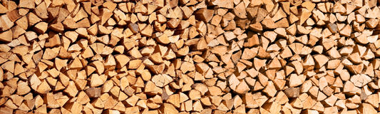 Stack of wood logs, Header wood abstract background Stock Photos