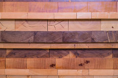 Stack of wood - 2 Stock Photography