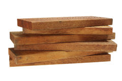 Stack of Wood Planks Stock Image