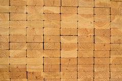 Stack of wood planks Royalty Free Stock Photography
