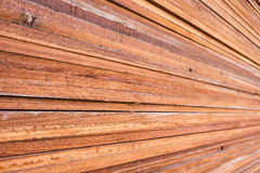 Stack of wood planks background. Texture Stock Image