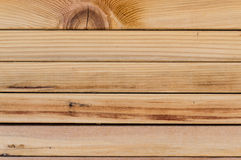 Stack of wood planks Royalty Free Stock Image