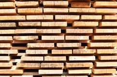 Stack of wooden bars. Background Stock Photos