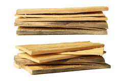 Stack of wooden board Royalty Free Stock Image