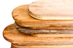 Stack Of Wooden Boards Stock Photos