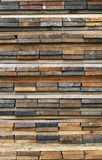 Stack of wooden planks Stock Image
