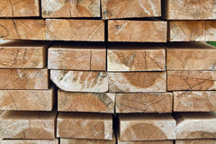 Stack of woods Royalty Free Stock Images