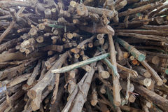 Stack of woods Stock Photography