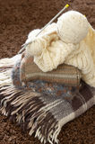Stack of woolen garment Stock Photography