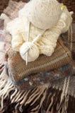 Stack of woolen garment Stock Image