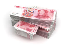Stack of Yuan Stock Photos