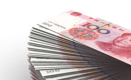 Stack of Yuan Stock Images