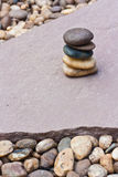 Stack of zen stones Royalty Free Stock Images