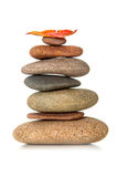 Stack of zen stones Stock Image