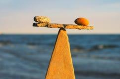 Stack of zen stones Royalty Free Stock Photos