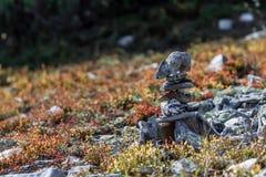 Stack of zen stones. Concept of balance and harmony. Stock Photo