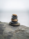 Stack of zen stones. Royalty Free Stock Image
