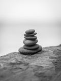 Stack of zen stones. Royalty Free Stock Images