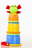 Stackable Frog Toy Stock Photography