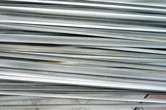 Stacked aluminum Stock Photography