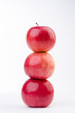 Stacked apples Royalty Free Stock Photos