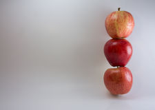 Stacked Apples Royalty Free Stock Photography