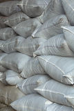 Stacked bags. Of yerba mate Stock Photo