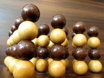 Stacked Balls Macro Abstract Royalty Free Stock Photo