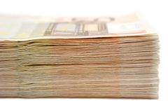 Stacked Banknotes Royalty Free Stock Photo