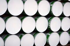 Stacked Barrels Stock Photo