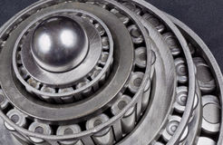 Stacked Bearings Royalty Free Stock Photo