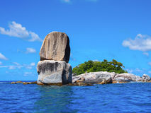 Stacked big stone , Koh Lipe, Satun, Thailand Royalty Free Stock Photos