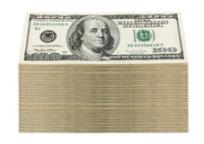 Stacked Bills Royalty Free Stock Image
