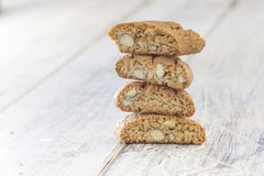 Stacked Biscotti Stock Images