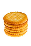 Stacked of biscuit Royalty Free Stock Images