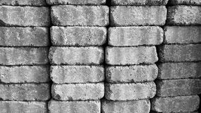 Stacked blocks Stock Images