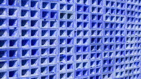 Stacked blue boxes Royalty Free Stock Photo