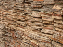 Stacked Boards Royalty Free Stock Image