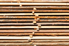Stacked boards Royalty Free Stock Photo