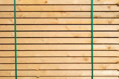 Stacked boards Royalty Free Stock Images