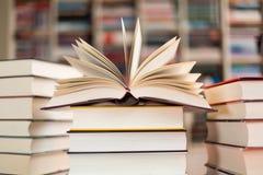 Stacked_books Imagem de Stock Royalty Free
