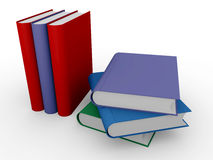 Stacked books Royalty Free Stock Images