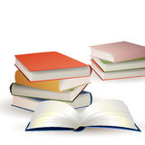 Stacked Books Royalty Free Stock Photography