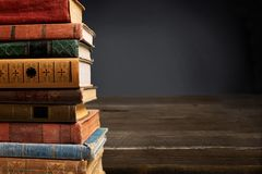 Stacked books Stock Image