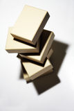 Stacked boxes Royalty Free Stock Image