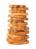Stacked bread slices Stock Photos
