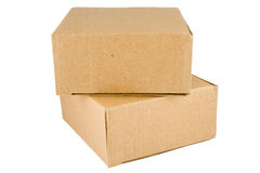Stacked Cardboard Box Royalty Free Stock Photo