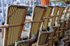 Stacked chairs Royalty Free Stock Photo